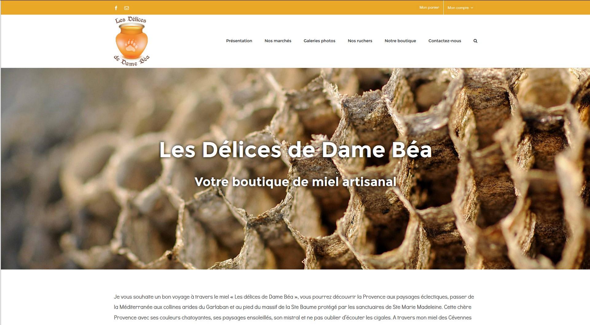 les-delices-de-dame-bea-creation-site-web-marseille